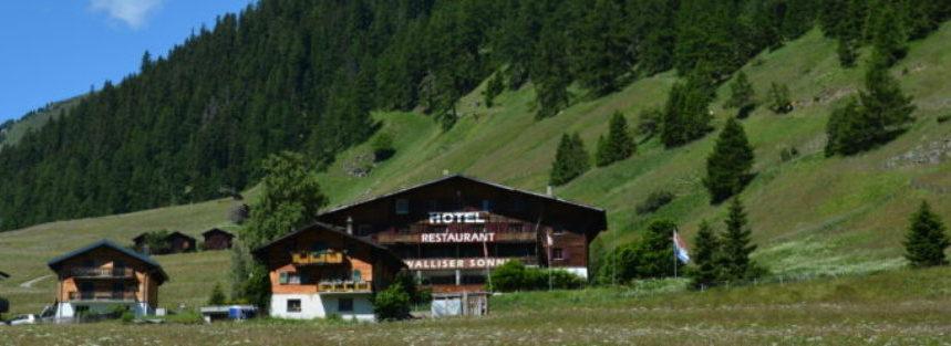 Hotel  Wallisersonne Gluringen Switserland